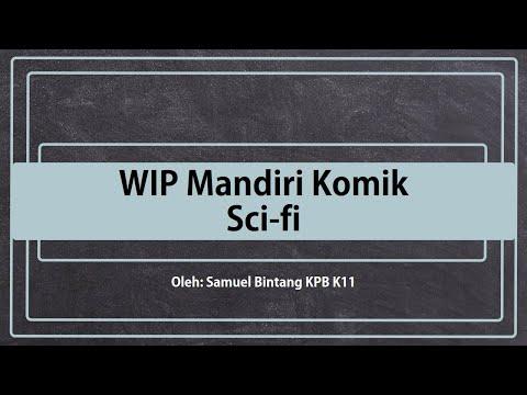WIP ke-1 Proyek mandiri Bintang [Comic Sci-fi]