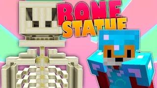 Minecraft Survival - BONE BLOCK STATUE - Foxy's Survival World [98]