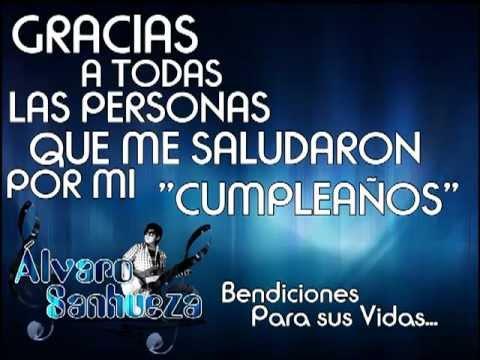 Gracias Por Felicitarme En Mi Cumpleaños Frases Imagui