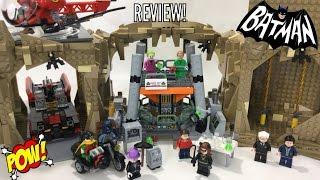 LEGO Classic DC Super Heroes Batman TV series Batcave set review! 76052