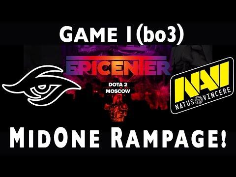 Dota 2 | Team Secret vs NaVi (FINALS, GAME 1) | Epicenter EU/CIS Qualifiers