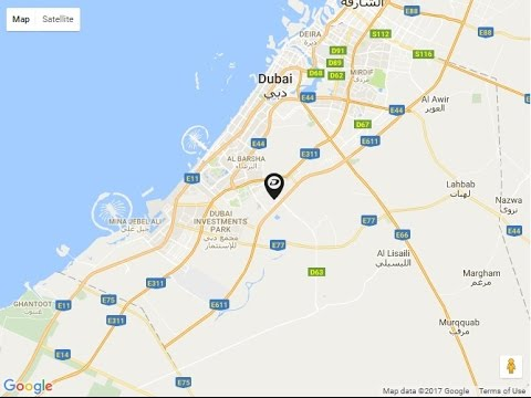 Damac Hills Location Map Dubailand Dubai UAE YouTube