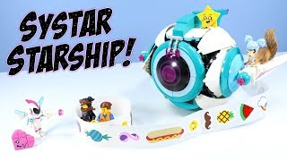 The LEGO Movie 2 Sweet Mayhem's Systar Starship! Set Build Review 70830