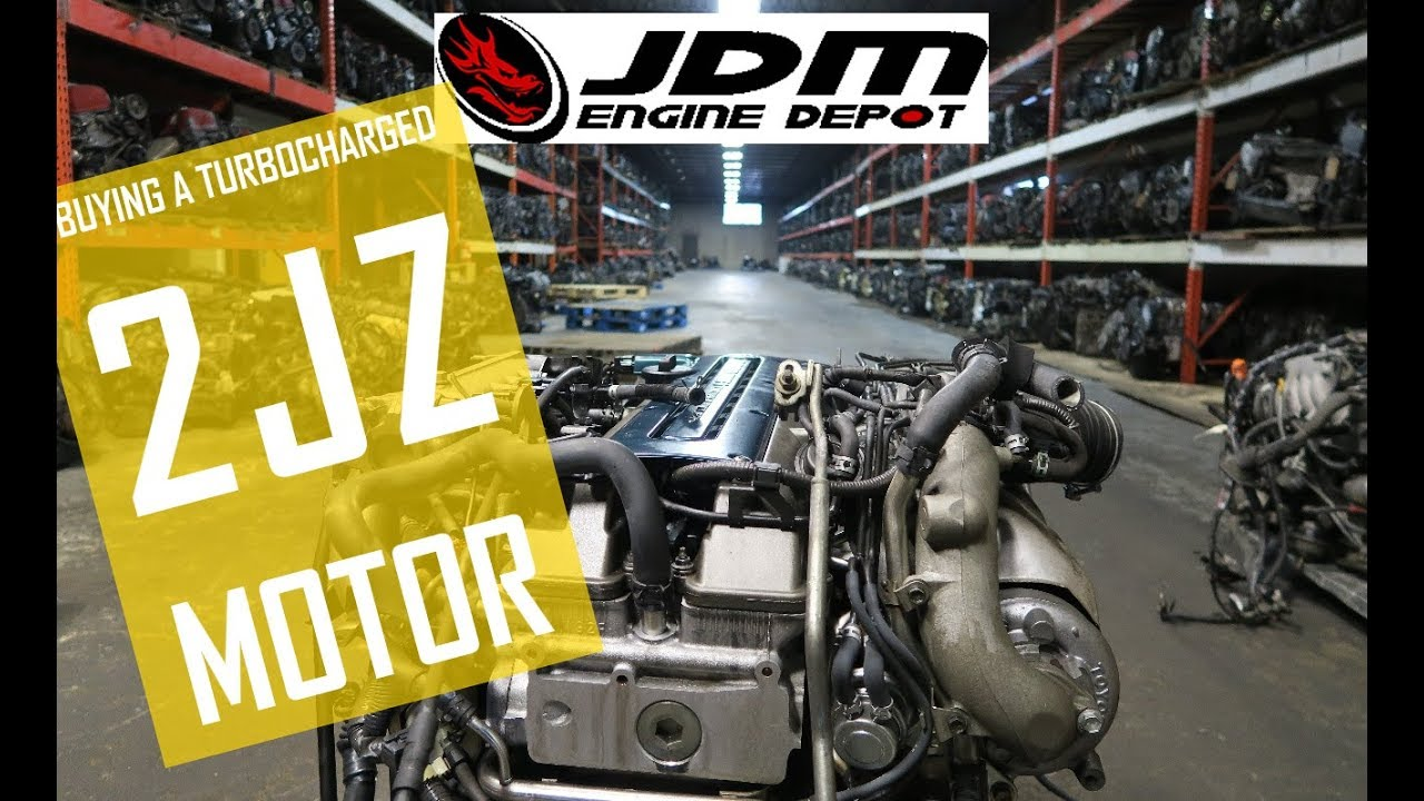 Buying A Turbo 2jz Engine From The Jdm Engine Depot Toyota Supra Build Youtube