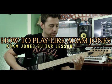 Adam Jones Guitar Lesson