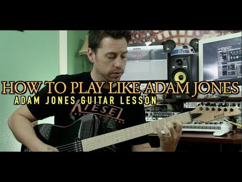 Adam Jones Guitar Lesson