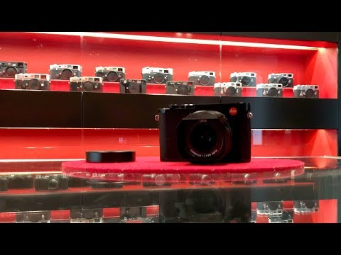 The new Leica Q2 at Leica Store Berlin