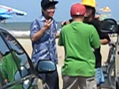 Fire crew bi cuop tai bai bien Sam Son Thanh Hoa