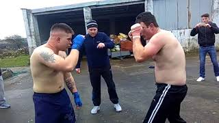 Jason Donavon vs John Dooley   Street Fight Bare Knuckle Boxing Fight Traveller Gypsy