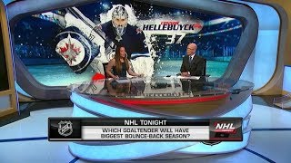 NHL Tonight:  Which goalie will have biggest bounce - back season?   Aug 20,  2019