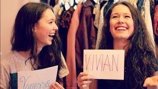 Vivian vs. Vanessa - Geschwister packen aus | xoxoviva Thumbnail