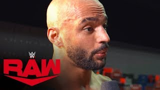 Ricochet declares 2020 his year: Raw Exclusive, Jan. 13, 2020