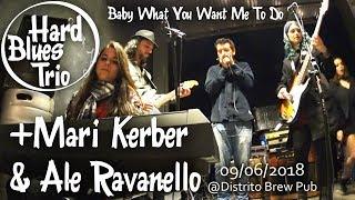 Hard Blues Trio feat. Mari Kerber & Ale Ravanello - Jam @ Distrito Brew Pub 09/06/2018