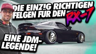 JP Performance - Die krassesten Felgen für die JDM Legende | Mazda RX7