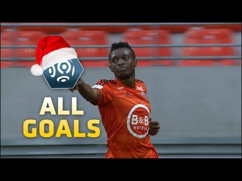 All goals of Benjamin Moukandjo week 1 - week 19 Ligue 1/ season 2015-16