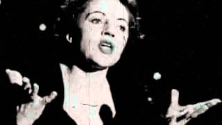 "Edith Piaf  ""La Vie en Rose"""