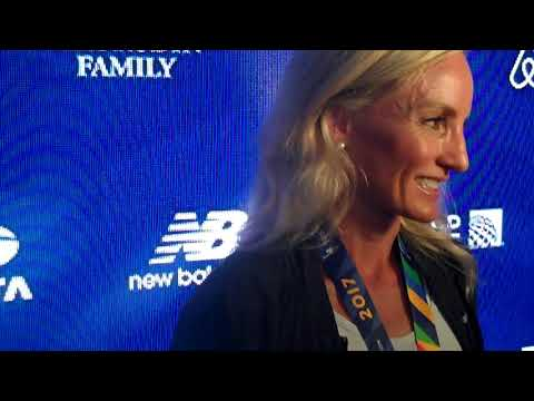 Shalane Flanagan Talks About Her Historic Win, Turning Down Late Show With Stephen Colbert