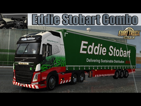 ETS2 - Volvo FH Eddie Stobart Combo - Right Hand Drive