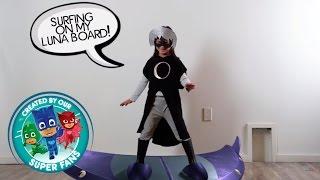 DIY Halloween Costume for PJ Masks villain LUNA GIRL!! thumbnail