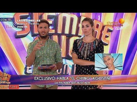 Chyno Agostini: 'Nunca vi a Fede Bal violentarse con mi hermana frente mío'