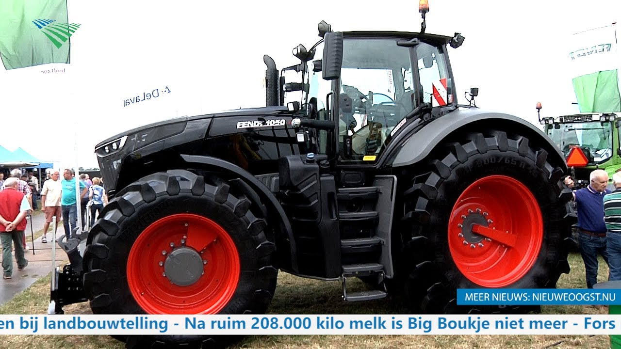 TV: Grootste trekker Fendt Vario 1050 op landbouwbeurs - YouTube