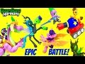 My Little Pony MLP Guardians of Harmony BATTLE Over Cubeez! Spike the Dragon!
