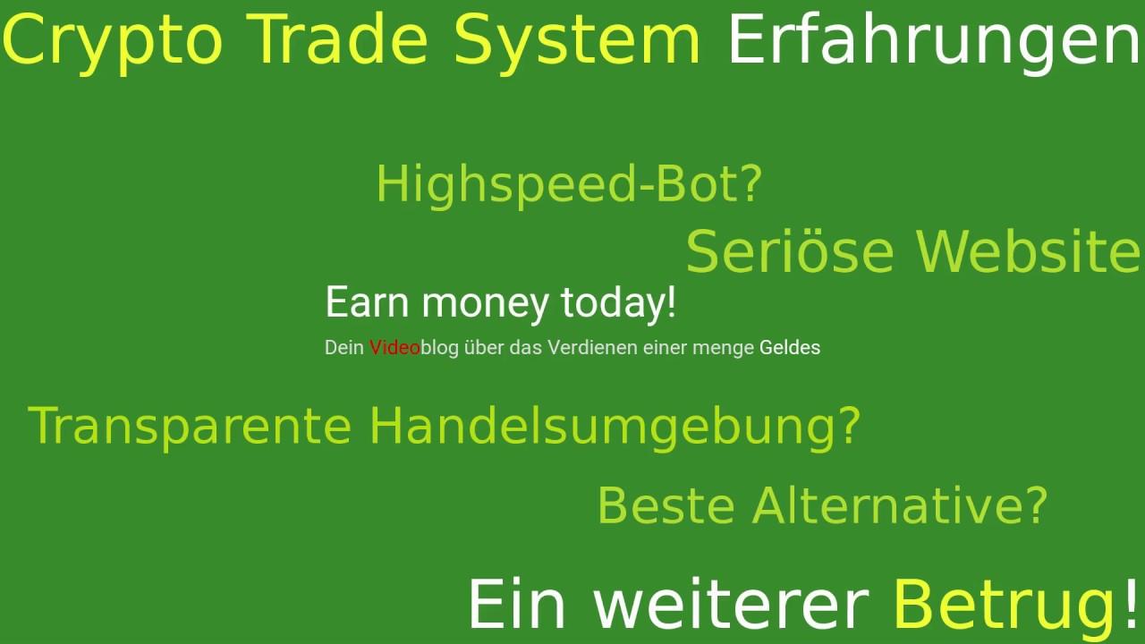 Crypto Trader Betrug