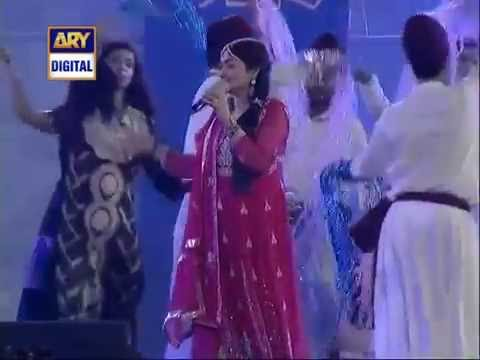BIBI SHIRINI by SHAZIA KHUSHAK in LUNCHING CEREMONY OF KARACHI KINGS 8 JAN 2016 PSL   YouTube