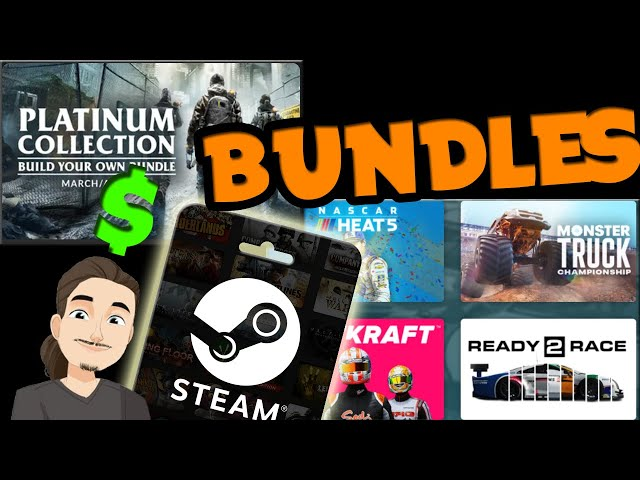 New Steam Game Bundles || Platinum Collection, Burn Rubber, Daedalic 15h Anniversary, and more!