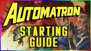 Fallout 4 How to Start Automatron DLC Walkthrough Guide