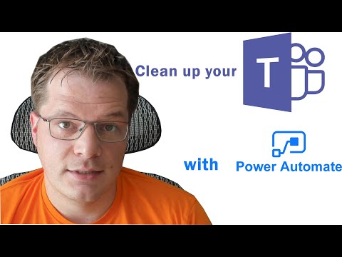 Clean Up Your Teams with Power Automate