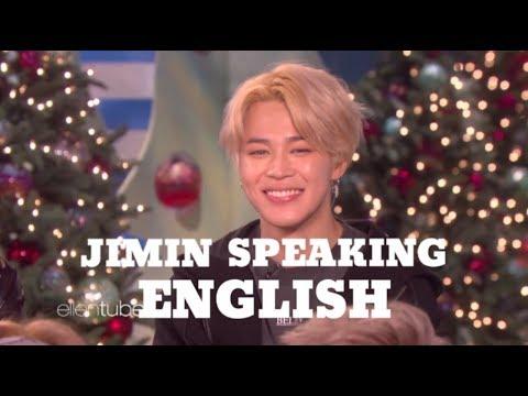 Jimin Speaking English Compilation [2018]