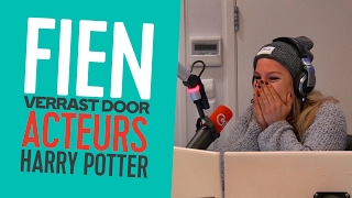 Fien verrast door Harry Potter-acteurs // Mattie & Wietze