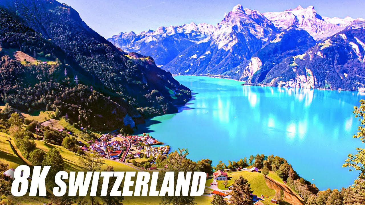 The Beauty of Switzerland in 8K HDR 60FPS ULTRA HD