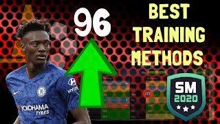 BEST TRAINING DRILLS ON SM20 - MAXIMUM PLAYER IMPROVEMENT | Soccer Manager 2020
