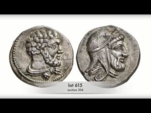 Künker Auction 304:  Coins of the Ancient World - How the portrait got on the coin...