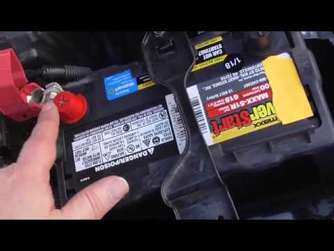 Installing and selecting a car battery