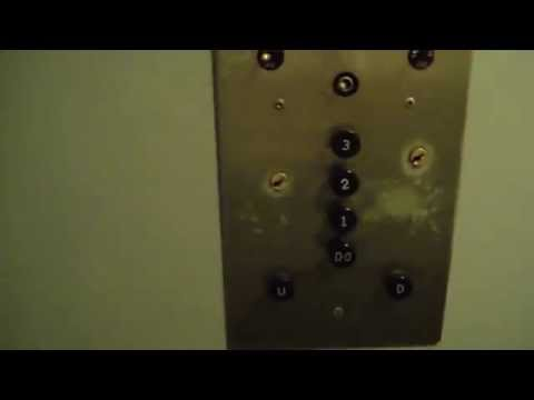 antique otis traction elevator @ Masonic Temple Sturgis MI