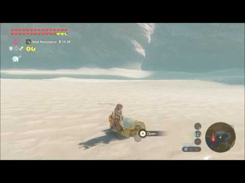 Someone opened Zelda: Breath of the Wild's glitchy