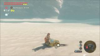 """Opening the """"Impossible"""" treasure chest on The Legend of Zelda: Breath of The Wild"""