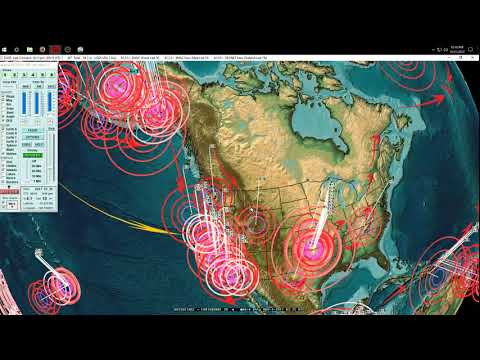 10/31/2017 -- VERY LARGE Earthquake unrest taking plate -- Multiple M6.8 to M7.0 -- BE ON WATCH