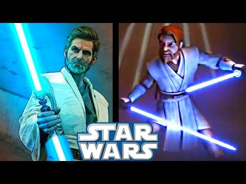 What Obi-Wan THOUGHT Of Dual-Bladed Lightsabers!! - Star Wars Explained
