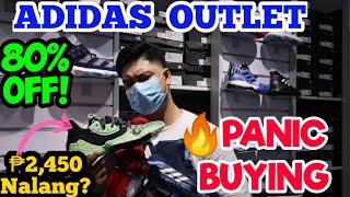 Adidas Outlet Store Panic Buying Sale 80% Off! Mapapabili Ka Dito!