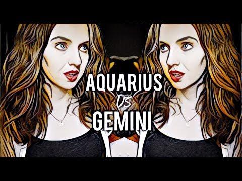 Compatibility between aquarius woman and gemini man