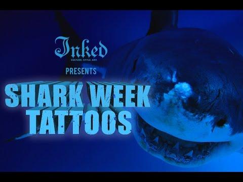 Killer Shark Tattoos!