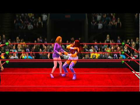 Britney Spears/Daphne Blake vs. Starfire/Power Girl (Request)
