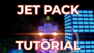 How to PROPERLY use the Jetpack (New in Roblox JailBreak update)