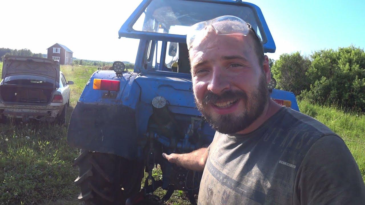 Приключения тракториста: Поломки в сенокос