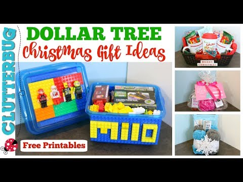 DIY Dollar Tree Christmas Gift Ideas