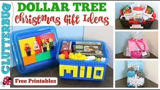 Dollar Tree Christmas Gift Ideas - EASY DIY GIFTS